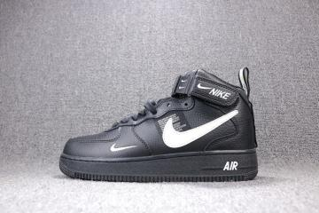 nice shoes lace up in low price sale Air Force 1 Mid Flyknit - FebRun