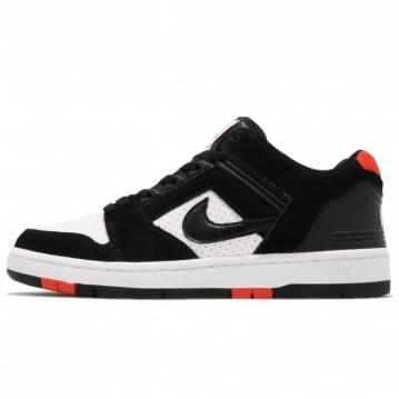 Nike SB Air Force 2 Low Black White habanero Red AO0300-006