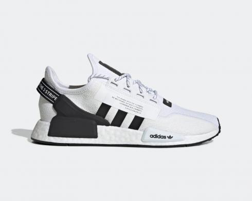 Adidas Oraiginals NMD R1 Boost V2 Cloud White Core Black FV9022