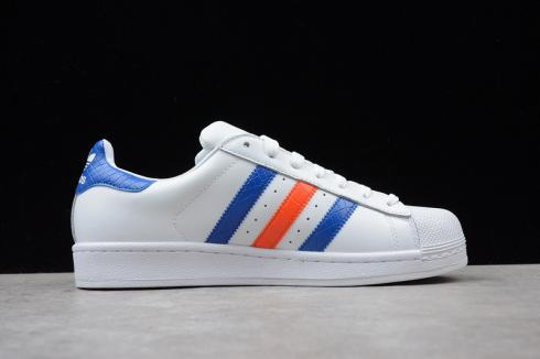 Adidas Originals Superstar East River Rivalry Running White Shoes B34310