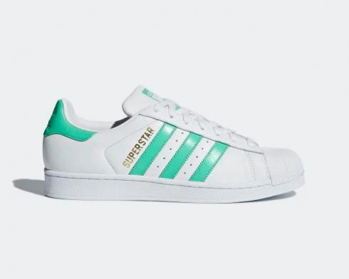 Adidas Originals Superstar Hi-Res Green Cloud White Gold Metallic B41995