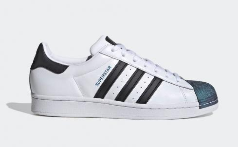 Adidas Superstar Iridescent Toe Cloud White Core Black FW6387