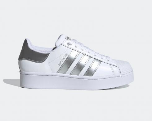 Adidas Wmns Superstar Bold Cloud White Silver Metallic FX4274