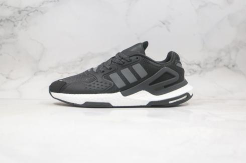 Adidas Ultra Boost 2021 Core Black Cloud White Running Shoes FW4058