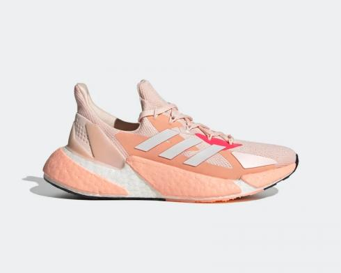 Adidas Wmns Boost X9000L4 Cloud White Pink FW8407