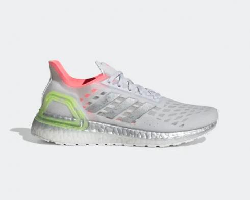 Adidas Wmns UltraBoost PB Grey Silver Metallic Light Flash Red EG0420