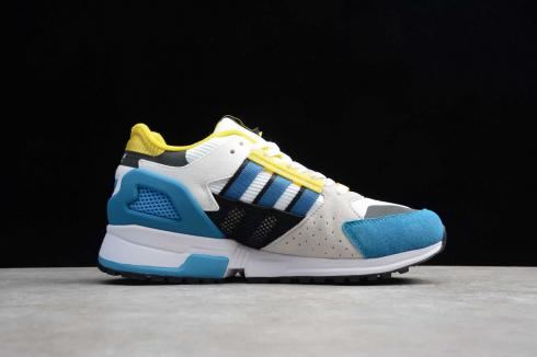 Adidas Consortium ZX 10000C Blue Cloud White Yellow EE9489