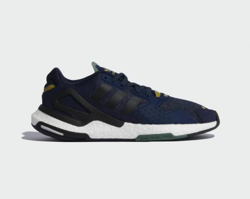 Adidas Day Jogger Collegiate Navy Core Black Old Gold Shoes FW4832