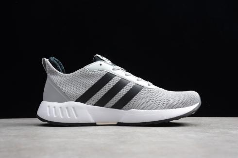 Adidas Grand Court Dark Grey Core Black Cloud White Shoes EH0834