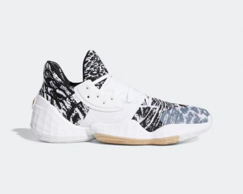 Adidas Harden Vol. 4 Cookies and Cream Cloud White Core Black Pale Nude EF1260