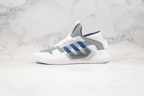 Adidas Neo PLAY9TIS 2.0 Cloud White Dark Grey Navy Blue EF0636