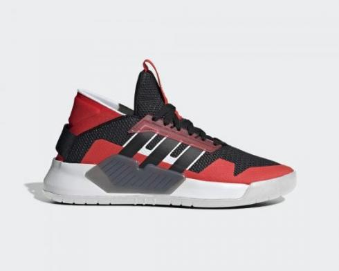 Adidas Neo PLAY9TIS 2.0 Hi-Res Red Core Black Cloud White EF0604