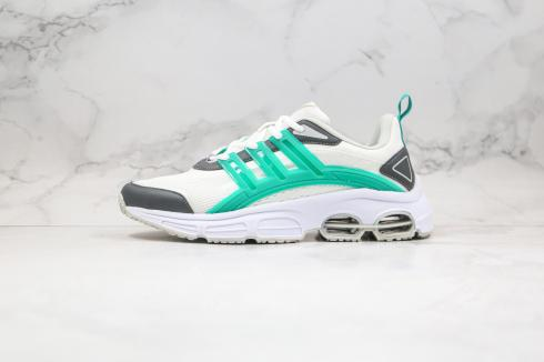 Adidas Neo Quadcube CC Marathon Cloud White Grey Green FW7177