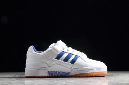 Adidas Originals Forum Low Refined Cloud White University Blue Gum G25812