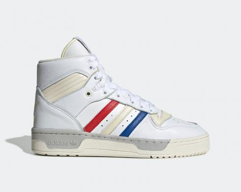 Adidas Originals Rivalry High French Tricolor Blue Solar Red EE6371