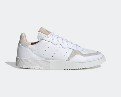 Adidas Originals Supercourt Crystal White Grey Shoes EE6034