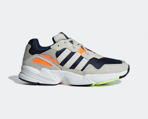 Adidas Originals Yung-96 Collegiate Navy Raw White Solar Orange F35017