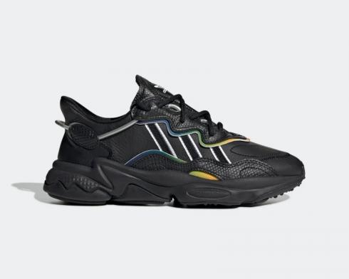 Adidas Ozweego Core Black Grey Six-Silver Metallic FV2556