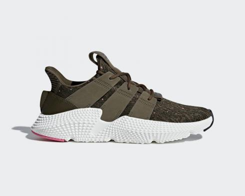 Adidas Prophere Trace Olive Pink Core Black Footwear White CQ3024