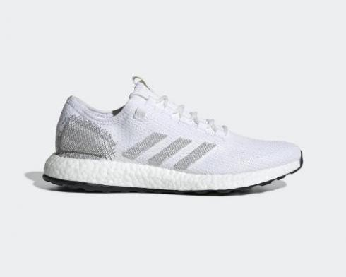 Adidas PureBoost HK Cloud White Grey Core Black Shoes EE4281