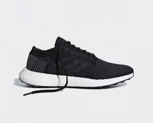 Adidas Pure Boost Go Core Black Grey Five Cloud White AH2319
