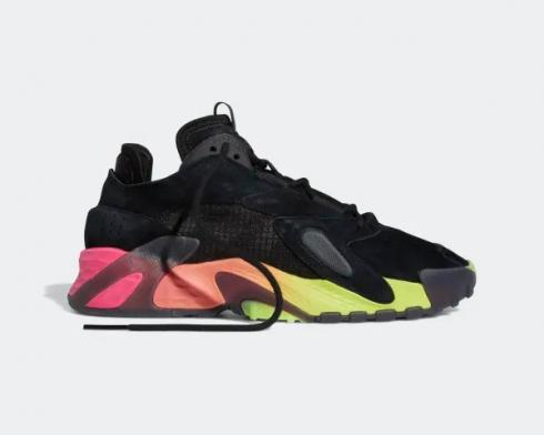 Adidas Streetball Core Black Solar Yellow Multi-Color EF1906