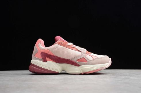 Adidas Wmns Falcon True Pink Solar Red Cloud White EG5648