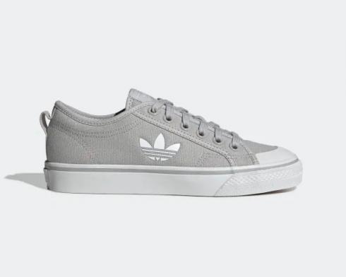Adidas Wmns Original Nizza Grey Two Cloud White Crystal White EF2039