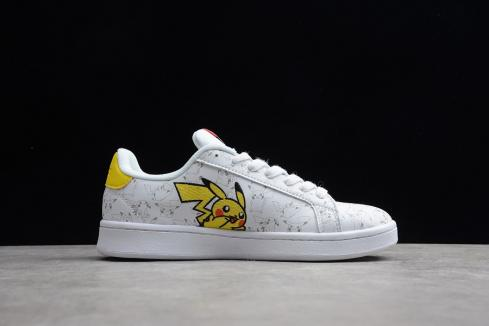 Adidas Wmns Pokemon Cloud White Grey Solar Yellow Shoes EG2195