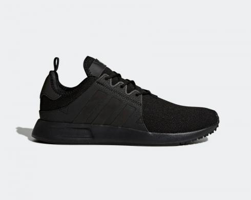 Adidas X PLR Core Black Tripe Black Trace Grey Running Shoes BY9260
