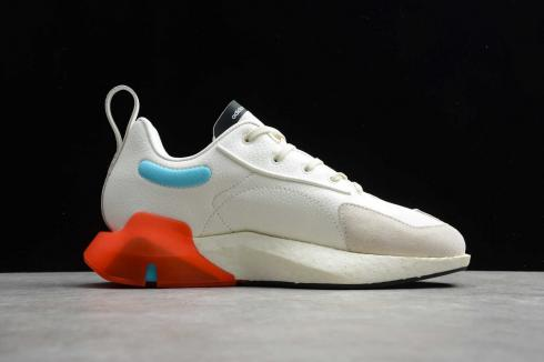 Adidas Y-3 ORISAN Rice White Blue Orange Running Shoes FX1428