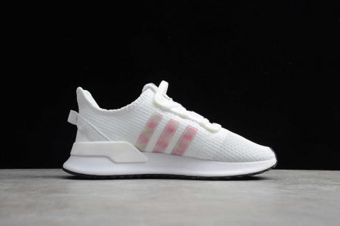 Wmns Adidas U Path Run White Pink Running Shoes FV8020