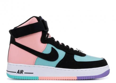Nike Air Force 1 Have A Day Hyper Space Purple Jade Bleached Black Coral CI2306-300