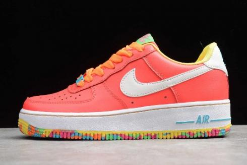 2019 Nike Air Force 1 Low GS Fruity Pebbles 596728 605
