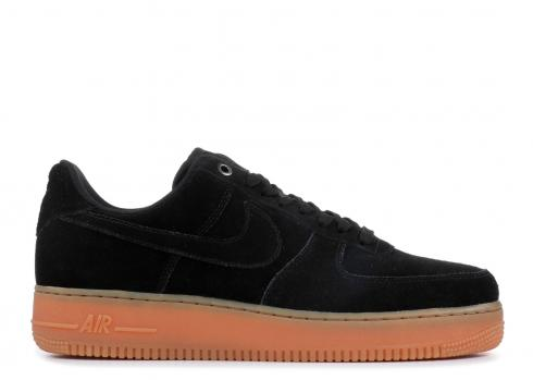 for whole family uk store amazing price Air Force 1'07 Lv8 Suede Black Gum AA1117-001 - FebRun