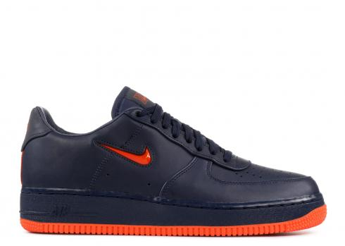 Air Force 1 Low Retro Prm Qs Fdny Brilliant Orange Obsidian AO1635 400