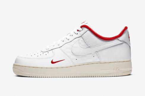 KITH x Nike Air Force 1 Low Tokyo White University Red CZ7926-100