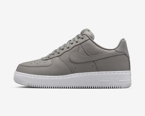NikeLab Air Force 1 Low Light Charcoal White Mens Running Shoes 555106-002