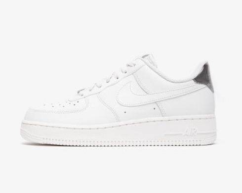 Nike Air Force 1 07 ESS Platinum Tint White Grey Shoes AO2132-003