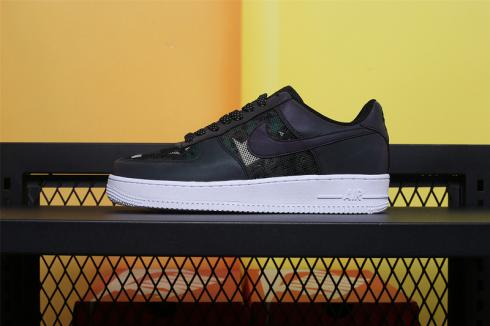 Nike Air Force 1 07 LV8 Refiective Camo Black Casual Shoes 718152-028