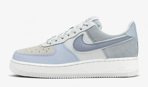 Nike Air Force 1 07 Low Premium Light Armory Blue Off White