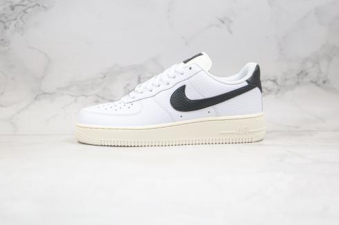 Nike Air Force 1 07 Low Summit White Black Running Shoes 315115-165