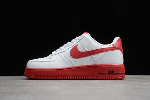 Nike Air Force 1'07 Low White University Red Black AO6820-800