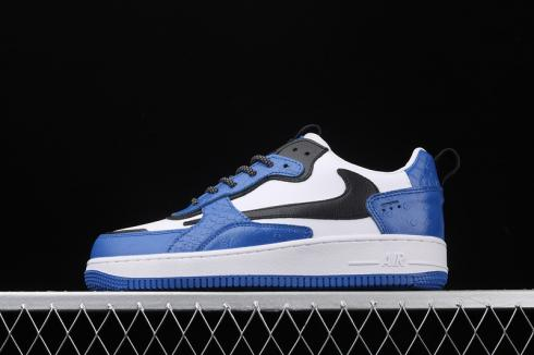 Nike Air Force 1 AC Blue White Black Mens Running Shoes 630939-410