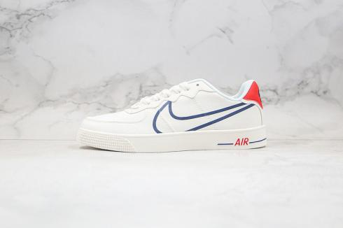 Nike Air Force 1 AC Canverse White Black Red Mens Casual Shoes 630939-202