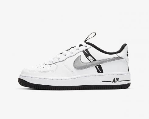 Nike Air Force 1 LV8 KSA GS Worldwide Pack White Reflect Silver Black CT4683-100