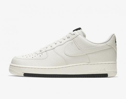 Nike Air Force 1 Low 07 1 Sail White Black Running Shoes AO2409-100
