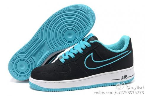 Nike Air Force 1 Low Embroidery Black