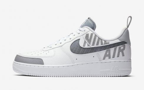 Nike Air Force 1 Low Under Construction White Wolf Grey BQ4421-100 ...