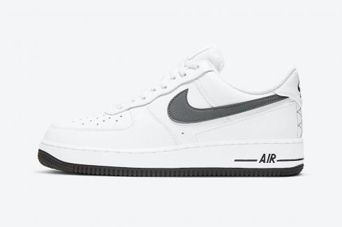 Nike Air Force 1 Low White Dark Grey Running Shoes DD7113-100